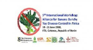 5th International Meeting of the BBTD ALLIANCE, 18 – 21 June 2018, Cotonou